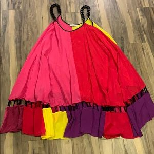 Anna K Color-block Dress